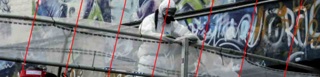 Asbest (besmette) producten inpakken/afvoeren