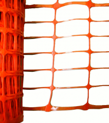 Oranje afzetgaas 1x50m