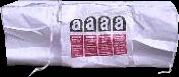 6 kuub asbest zak 350x170x115cm