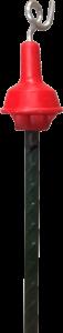 Afzetpin + krul 115cm