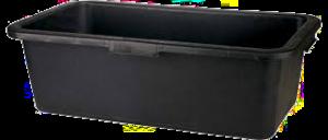 Laarzenspoelbak 65L zwart