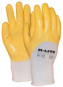 NBR handschoen geel 4121