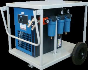 HUUR Onafhankelijke ademlucht droger/filterstraat