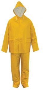 Regenpak PVC geel maat XXL