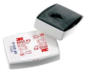 3M stoffilter 6035 P3 met bajonetsluiting