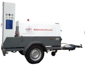 HUUR 6 persoons onafhankelijk ademlucht compressor (diesel)