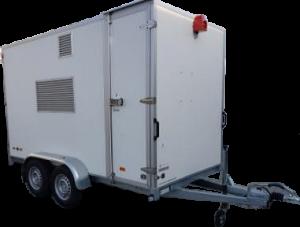 HUUR 8 persoons onafhankelijk ademlucht compresor (Diesel)