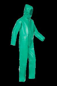 Wasbare overall Type 3/4 groen