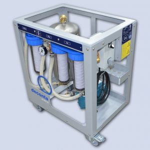 Deconta AS 300 CG waterfiltersysteem inclusief filters