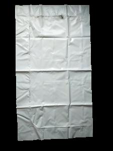 D-deur wit PVC 0.40mm/180x100