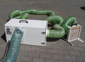 Deconta Dust master 1100 bouwstof afzuiger