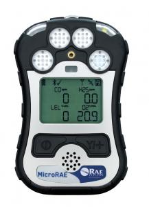 MicroRAE gasdetector voor meerdere gassen