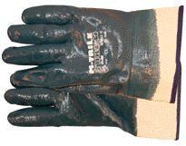 Nitrile handschoen blauw