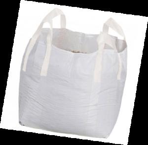 big bag mileuzak 90x90x110cm zonder opdruk met 60 micron liner