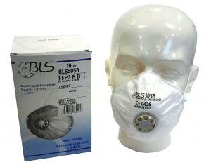 Stofmasker FFP3 ventiel/cup