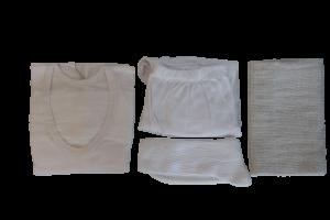 Kledingset winter met handdoek XXL