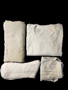Kledingset zomer met handdoek