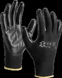 Montage handschoen Nylon zwart